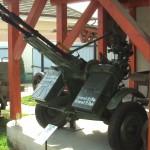 ZU-2 vontatott, ikercsöves 14,5mm légvédelmi géppuska