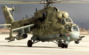 MI-24 Harci Helikopter